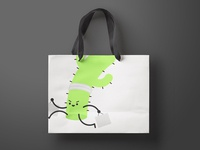 Thirty Logos Challenge - Austin Run Shopping Bag Mockup