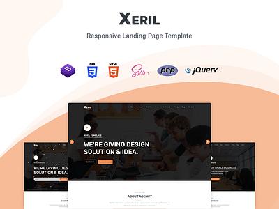 Xeril - Responsive HTML5 Termplate portfolio multipurpose business multipurpose marketing investment finance consultant firm consultant clean business bootstrap 4