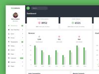 Webadmin - Dashboard