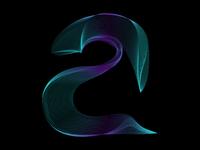 "Letter ""a"" - Fluid Type #1"