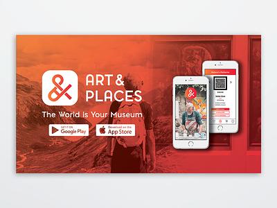 Arts  & Places - Main Web Slider web design branding logo ui