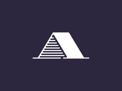 Abri capital serif logo design fre lemmens eskader logo hideout identity a abri