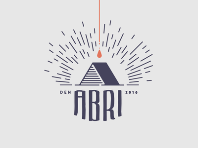 Abri Beer capital serif logo design fre lemmens eskader logo hideout identity a abri