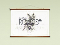 Roots Botanical Poster