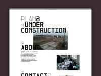Plan-B Webpage