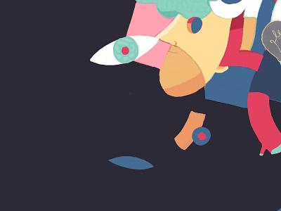 UC / LGU Academy fre lemmens eskader icons culture wacom intuos wacom digital illustration graphic artist colorful art flat  design antwerp urbanism urban art youth culture character concept illustration art wall art mural wall graphic illustration