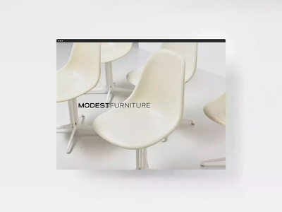 MODEST Furniture Web UI