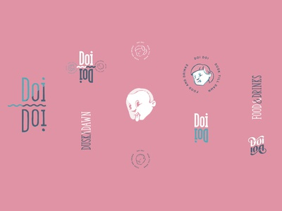 Doi Doi Logo Set