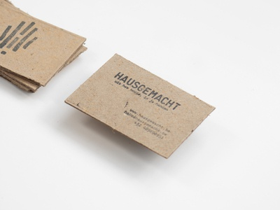 HAUSGEMACHT Bcards