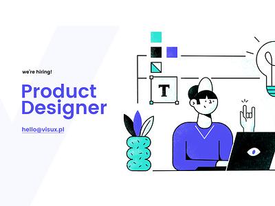 We're hiring mobile website app web ux illustration design