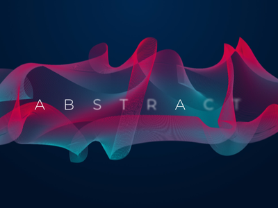 Abstract. adobe illustrator design blur colour typography blend vector graphic gradient