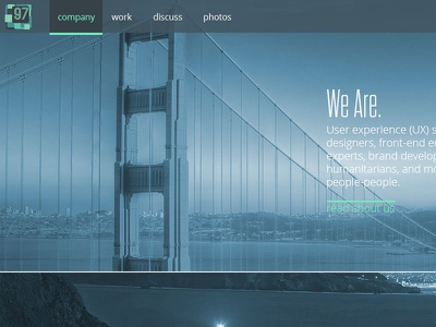 New Homepage homepage parallax