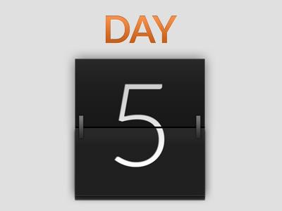 Calendar Day calendar gradient texture