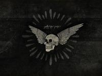Winged skull 2560