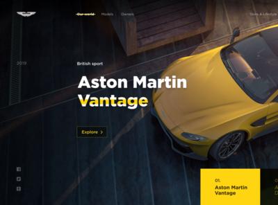 Aston Martin Web