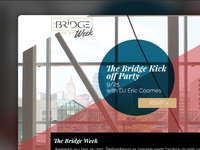 Halls- Bridge Week Microsite