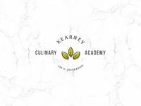 Kearney Culinary Academy branding