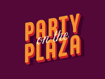 Party on the Plaza kansas city watch party fall festival fall colors fall event kearney party block party