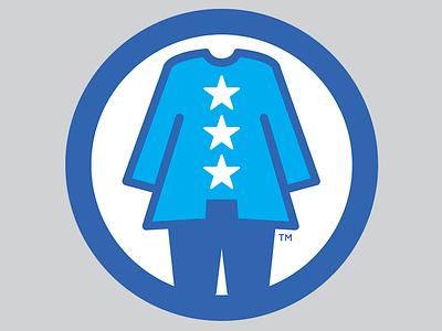 Pantsuit Nation branding mark logo logomark