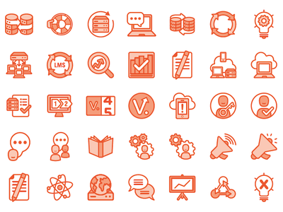 Kronos Iconography marks brand icons iconography icons