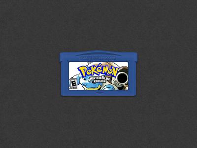 PokemonWaterBlue GBA version