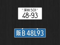 License Plate Reverse