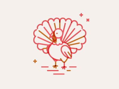 Thanksgiving Turkey thanksgiving design bird illustration bird logo turkey logo turkey illustration illustration thanksgiving graphic thanksgiving