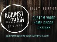 Against the grain Business card & logo Design