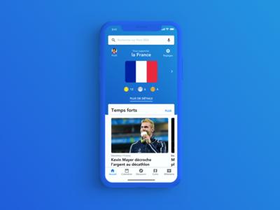 Paris 2024 - Olympic games app