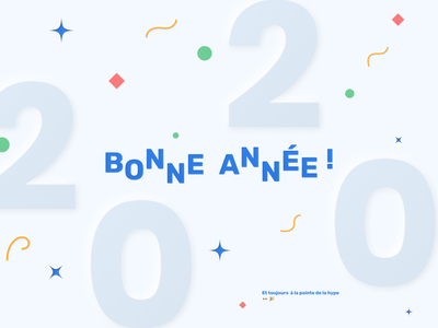 Adfab 2020 - Another year in the game vector confetti ui 2020 new happy new year neumorphism neumorphic adfab bonne année