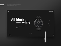 Nixon - All Black White