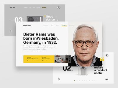 Dieter Rams - 10 Principles for Good Design