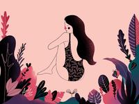Girl In Jungle