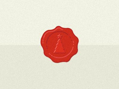 Christmas Wax Stamp