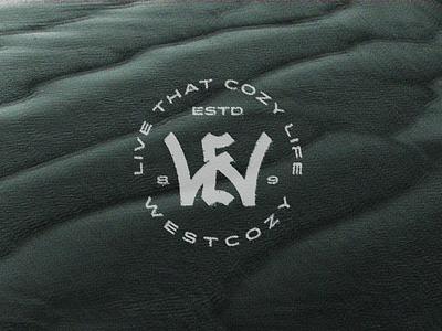Live That Cozy Life animal crossing minimal westcozy cozy monogram logo monogram