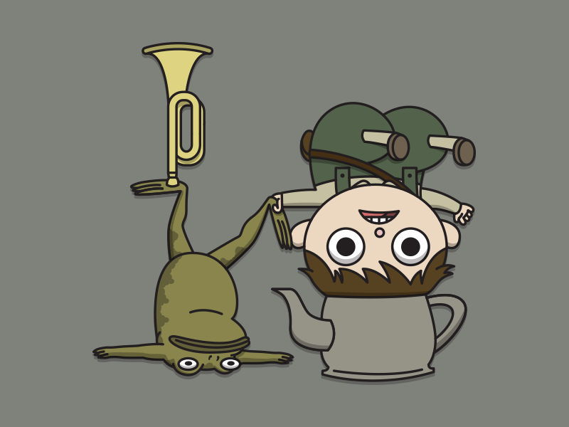 Etsy Bild Over The Garden Wall Greg And Frog