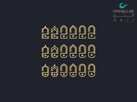 HAJJ حــــج typographic فن تصميم لوگو لوجو لوقو شعار شعارات مخطوطة vector arabic calligraphy illustration arabic typography calligraphy and lettering design arabic branding calligraphy typography