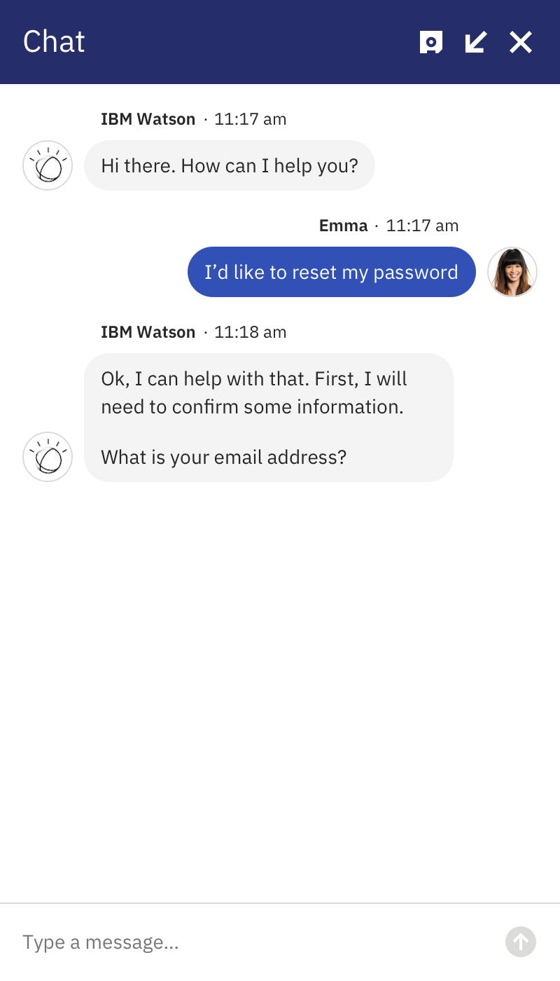 Watson pw response