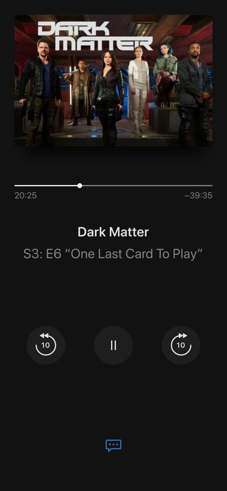 Apple tv show details