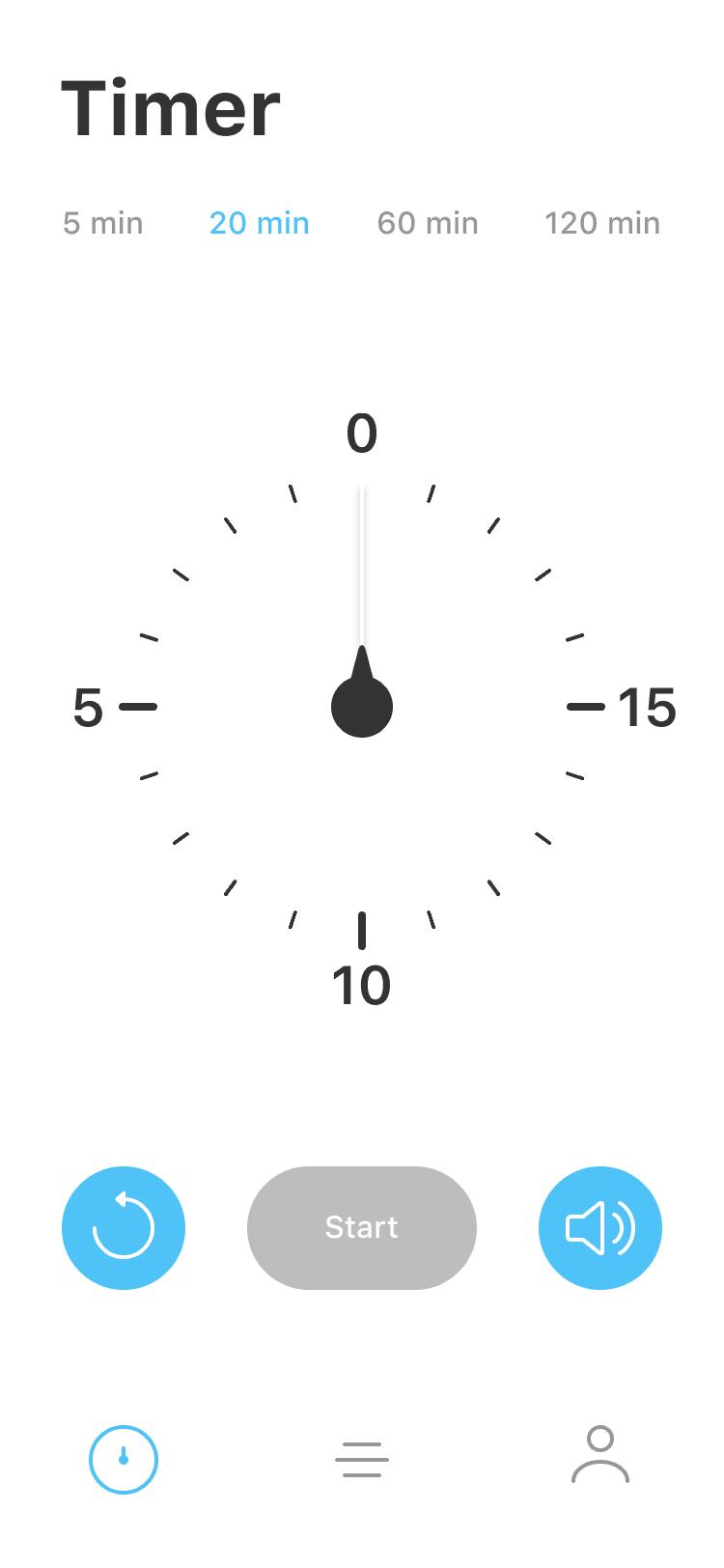 Timer 20min