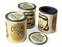 Costume in a Can Halloween Mailer