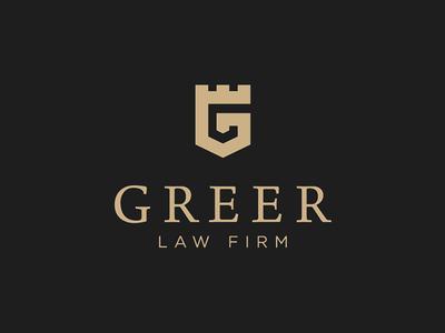 Greer Law Firm Logo Design