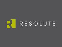 Resolute PR Logo Design