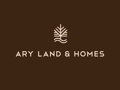 Ary Land & Homes Logo Design
