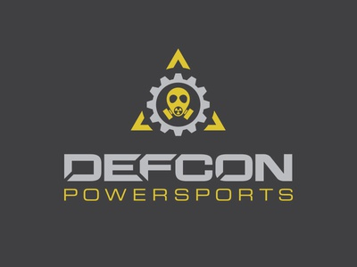 Defcon Powersports Logo Design