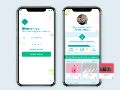 UI App - Loyalty program for customers