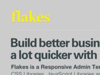 Flakes Homapage