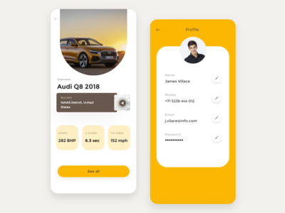 Audi Interface App
