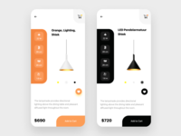 Luxury lighting e-commerce app