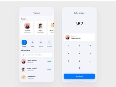 App enter amount finance